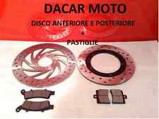 DISCO ANTERIORE E POSTERIORE + PASTIGLIE APRILIA SCARABEO LIGHT 250 2008