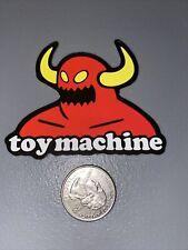 "Toy Machine  Vinyl Skate Sticker Skateboard Decal Laptop 3""x2"" No Bends Or Tears"