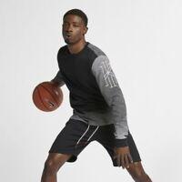 Nike Dri Fit Playera Kyrie Logo Tee Mens T-Shirt Black Size M Sportswear Casual