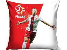 LPOL24: Arkadiusz Milik 10 Kissen Polen - weiß + rot Größe 40 x 40 cm