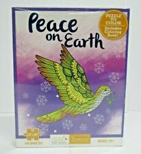 Art Unplugged 100pcs Jigsaw Puzzle Peace on Earth Home School Project Color Book