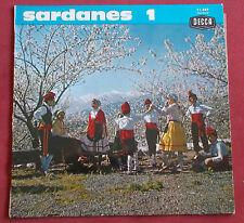 """COBLA BARCELONA  25 CM  10"""" LP ORIG FR  SARDANES 1"""