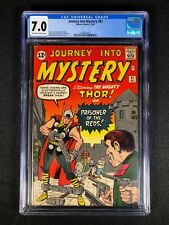 Journey Into Mystery #87 CGC 7.0 (1962) - Silver Age THOR!