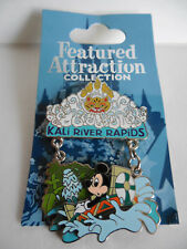 LE Animal Kingdom Kali River Rapids Featured Attraction Pin Walt Disney World