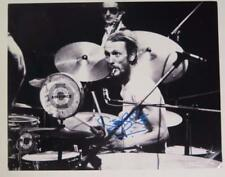 Ginger Baker CREAM Signed Autograph 11x14 Photo Blind Faith Eric Clapton related