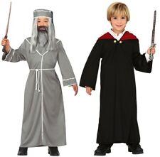 Wizard Costumes World Book Day Fancy Dress Costume Halloween Magic Student UK