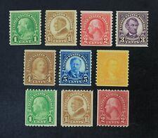 Ckstamps: Us Stamps Collection Scott#597-599 600-606 Mint Nh Og
