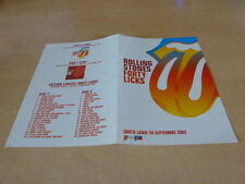 THE ROLLING STONES - FORTY LICKS -!!BIOGRAPHY!!!!RARE FRENCH PRESS/KIT/