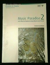 MUSIC PARADISE 2 INTERMEDIATE, RHYTHM & CHORDS, PIANO, ORGAN, KEYBOARD, DTMP M-6