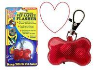 Dog flasher safety pet hi vis viz