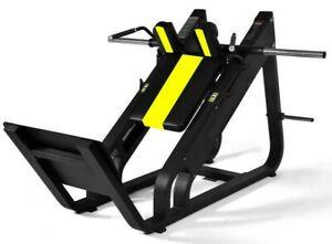 Black Bull Fitness® Commercial Heavy Duty Hack Squat Machine Gym Fitness legs