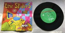 """Lime Spiders - My Favourite Room - Blood From A Stone - 7"""" Single Vinyl Record"""