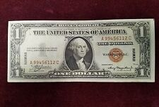 1935A One Dollar Hawaii Overprint War Time Currency RARE A-C Block Letters UNC