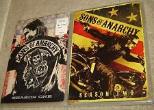 SONS OF ANARCHY SEASON ONE AND SEASON TWO, NEW AND SEALED, WIDESCREEN, K. SEGAL