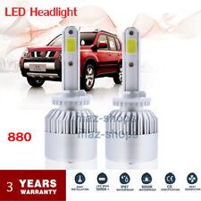 LED Headlight Kit 880 6000K 1400W Bulbs Fog Lights for Chevy Silverado 1999-2002