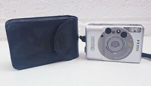 Vintage Canon Ixus L-1 Camera Compact APS Film Camera untested with case