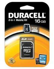 MicroSDHC de memoria para cámaras de vídeo y fotográficas para 16 GB