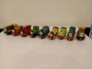 Thomas The Tank Engine And Friends Die Cast Magnetic Train Bundle