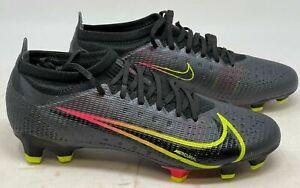 Nike Mercurial Vapor 14 Pro FG Soccer Cleat CU5693 090 Mens 10.5 Womens 12 NOLID