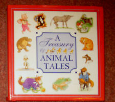 A Treasury of Animal Tales - a Siena Book - Childs Hardback Book -Exccellent