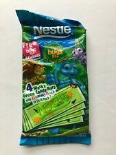 Disney's A Bug's Life 4 Wacky Green Candy Bar's Plus Sticker's