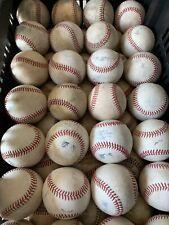 20 Used Baseballs MLB And MiLB