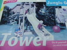 Jungle Gym - Spielturm TOWER - Zubehörpaket - OHNE Holz und Rutsche - NEU