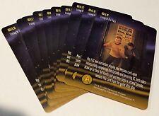 STAR TREK 1996 Fleer CCG LOT of  10 PROMO Cards Living in the Past KIRK & SPOCK