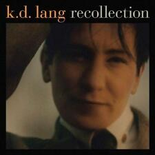 KD LANG (RECOLLECTION - GREATEST HITS 2CD SEALED + FREE POST)