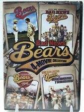 BAD NEWS BEARS 4-MOVIE COLLECTION New 4 DVD Breaking Training Go to Japan