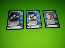 Dragon Ball Z ccg tcg Trunks Saga Goku Personality Set 1-3 Foil