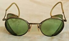 Vintage Ful Vue 23 Green Lens Glasses or Motorcycle Goggles