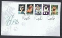 AFD1347) Australia 2013 Top Dogs FDC