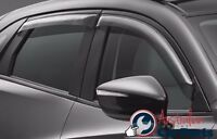 MAZDA CX3 Weathershields Slimline Set of 4 New Genuine 2015 2016 2017 DK11ACSWSA