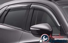 MAZDA CX5 Weathershields Slimline Set of 4 New Genuine 2012-2017 Accessories