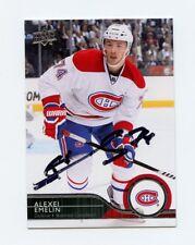 ALEXEI EMELIN CANADIENS AUTOGRAPH AUTO 14/15 UPPER DECK #349 *56407