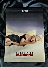 MADONNA PROMO JAPAN CALENDAR TRUTH OR DARE IN BED WITH RARE NOT FOR SALE
