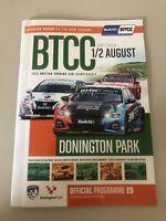 LAST ONE Btcc 2020 Donnington Programme Behind Closed Doors Touring Cars