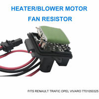 Renault Trafic Opel Vivaro Heater/Blower Motor Fan Resistor 7701050325