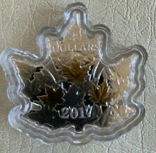 2017 $20 GILDED SILVER MAPLE LEAF - PURE SILVER COIN