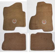 NEW! Tan Floor Mats 2003-2006 Cadillac  Escalade ESV EXT Official Crest Logo
