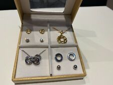Andre Piasso Jewellery Earring Necklace Set NEW Boxed BARGAIN GIFT RRP £70+