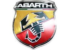 STEMMA TUNING LOGO ABARTH IN METALLO PER PANDA RITMO FIAT 500 600 GRANDE PUNTO