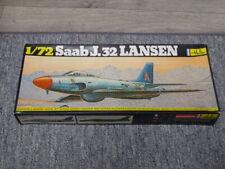 Maquette vintage Heller - Saab J.32 Lansen au 1/72