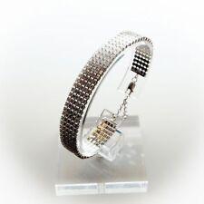 Markenlose Armbänder im Statement-Stil aus Sterlingsilber mit Echtschmuck