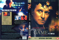 THE GAME (1997) - David Fincher, Michael Douglas, Armin Mueller-Stahl  DVD NEW