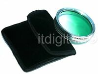 62mm Graduated Green Color Lens Glass Filter Screw-in Half Green Half Clear 62 m