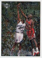 Michael Jordan 1997 Upper Deck REFLECTION Leadership Official Basketball Card