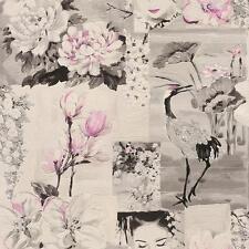 Rasch Oriental Fleur Motif Papier peint Japon Oiseau Rouleau Gaufré 870114