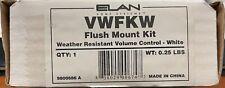 Elan Vwfkw Weather Resistant Volume Control- White